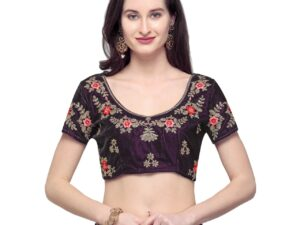 Beautiful Zari Lahnga Choli For Girl's