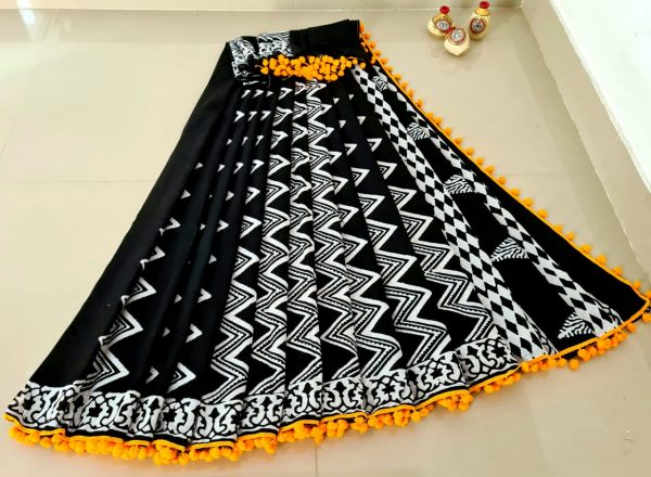 Top 5 Latest Beautiful Cotton Saree
