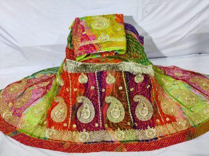 Half Pure Rajputi Poshak